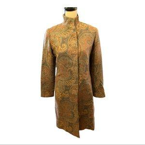 Ralph Lauren Black Label Paisely Jacket Dress NWOT